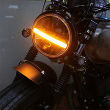 New Style 7 Motorcycle LED Headlight 50W 12V For Yamaha Road Star 1600 1999-2003 new style motorcycle graphics