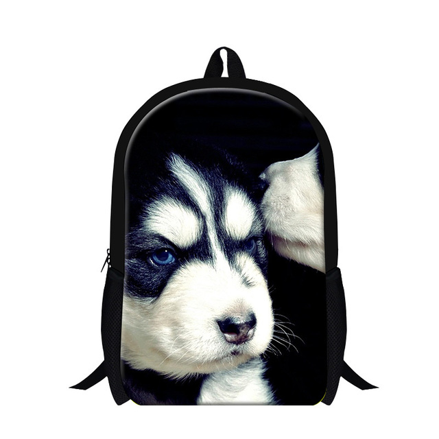 Cute animal dog 3D pattern backpacks for teen girls,children's ...