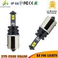 Un Conjunto de 1157 LED Luces de Niebla Del Bulbo 40 W 6000 K Bombilla LED Auto 12 V Kit luz Antiniebla Coche Fuerte Penetración en la Niebla Advertencia Luminosa