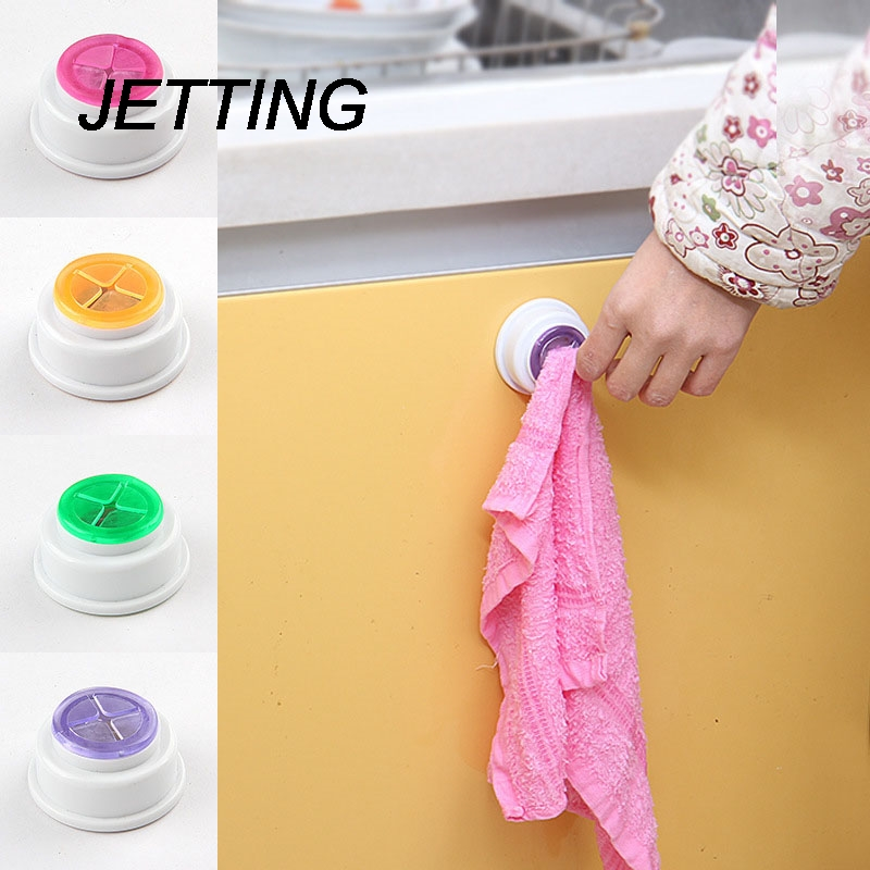Bathroom Shelves 1PCS Wash Cloth Clip Holder Clip Dishclout Storage Rack Bath Room Storage Hand Towel Rack