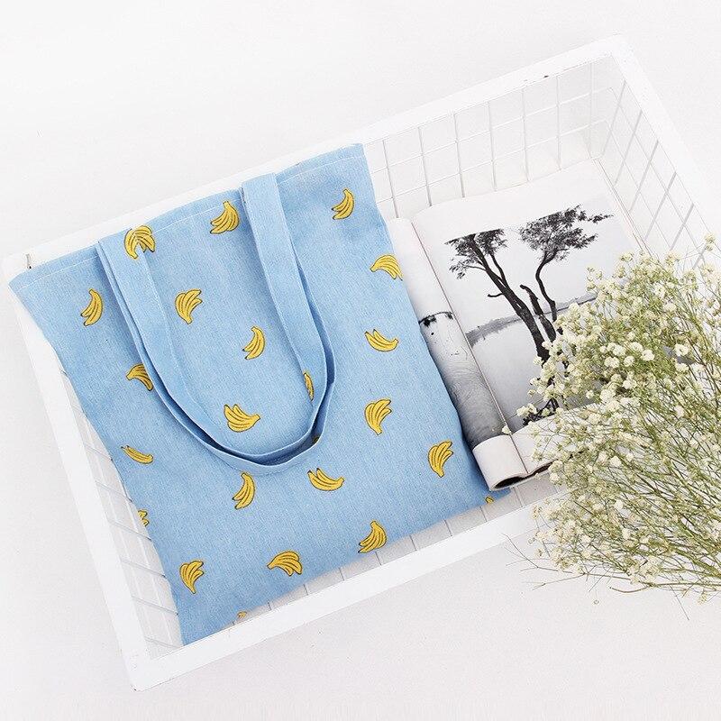 VEAMOR Märke Blå Banan Enkel Stil Handväska Zipper Liten Färsk - Hemlagring och organisation