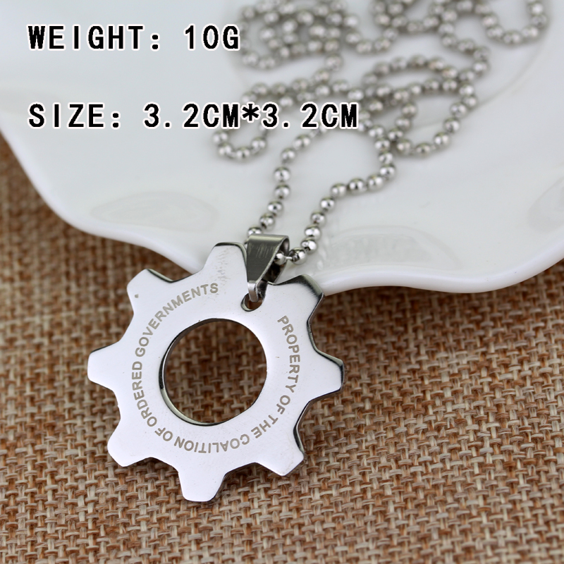 product necklace hop new fashion statement pendant hip gear men necklaces s b chain jewelry golden