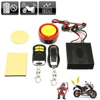 Motorcycle Bike Anti Theft Security Alarm System Remote Control Engine Start 12V