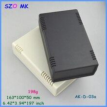 Szomk ABS пластик электроники блок управления (1 шт.) 163*100*50 мм пластик корпуса оборудования инструмент случай проекта