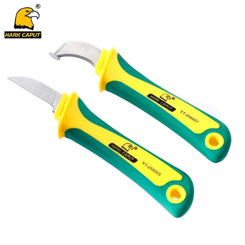 Werkzeuge Handwerkzeuge Omy 1 Stück Abisolieren Cutter Kabel Elektrische Isolierung Strippen Messer Abisolierzange Elektriker Handwerkzeuge