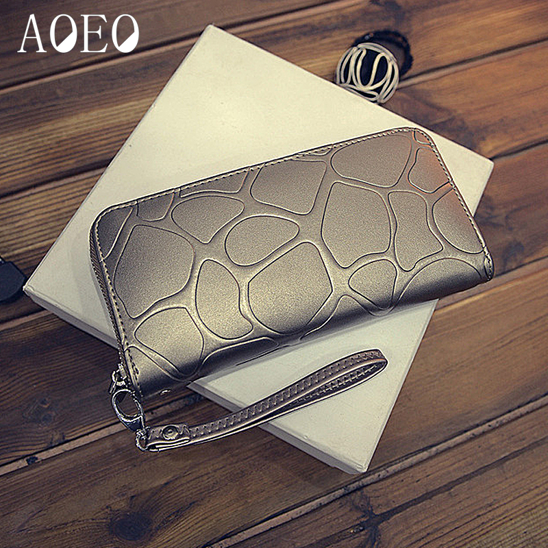 AOEO wristlet women wallets coin purses & holders long Pu Purse womens wallets and purses handy carteras for girl wallet female anime cartoon wallets bifold game pokemon go pikachu wallet for teenager women men pocket monster purse coin purses holders