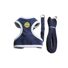 Ambaby cat dog collar harness leash soft breathable air nylon mesh puppy pet and set adjustable