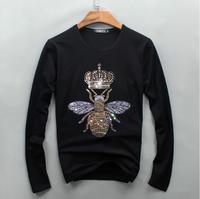 100 Cotton Long Tee New 2017 Fashion Luxury Brand Mens Summer T Shirt Slim Fit Long