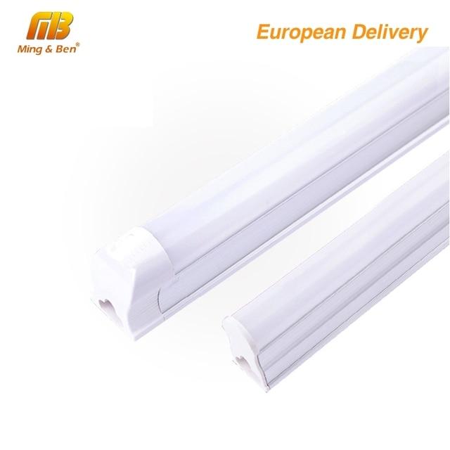 [MingBen] 1pcs T8 T5 LED Bulb Tube 2ft 60cm 8W 220V-240VAC Cold White Warm White PVC LED Fluorescent Tubo de LED Tube Wall Lamp