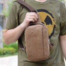 2016 Top Sale Men's Travel Bag Canvas Men Messenger Bags Fashion Style Chest Pack Casual Multifunction Men Shoulder Bags