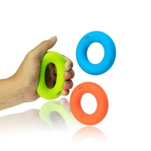 7cm Grip Hand Forearm Strength Gripper 3 Colors Weights Rubber Ring Exerciser Gym