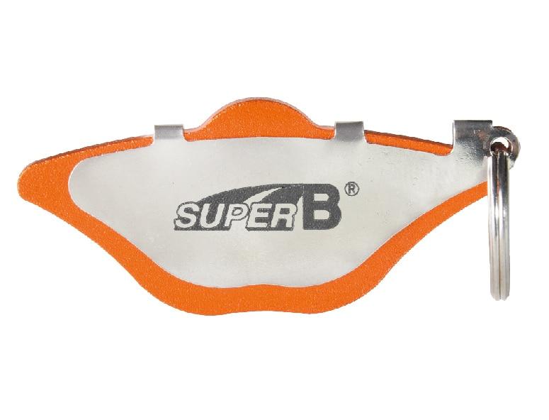 Super B TB-BR10 Brake Caliper Alignment Tool Easy To Set A Proper Gap For Tuning Disk Brake System Bike Bicycle Repair Tools