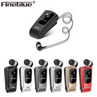 FineBlue F920 беспроводные наушники драйвер Bluetooth Телескопический Тип бизнес гарнитура звонки напоминают вибрацию носить клип спорт UM