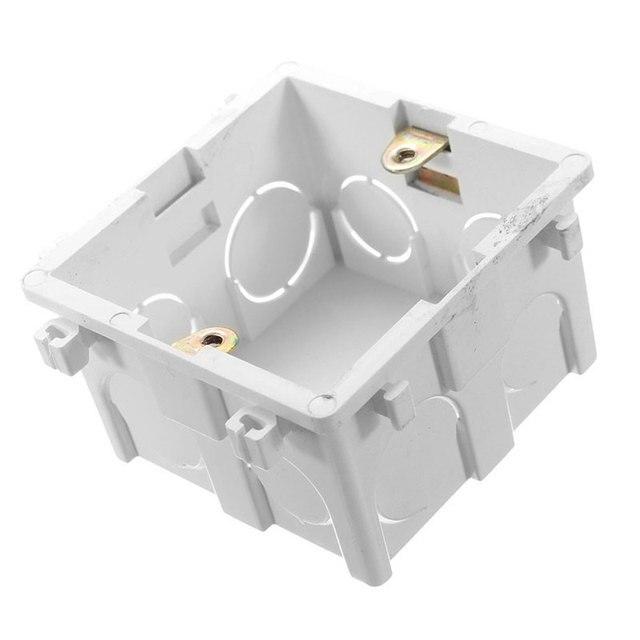 Soro White Plastic Materials 83mm 83mm Uk Standard