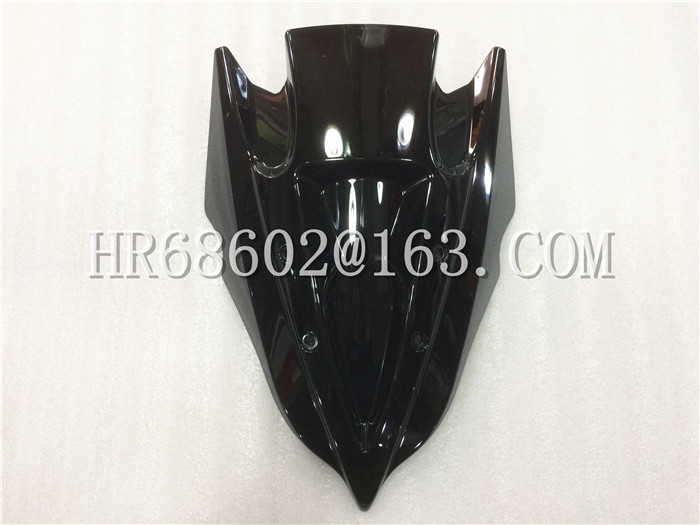 HotSale Freeshipping For Kawasaki Z250 Z300 2013 2014 2015 2016 Black Windshield WindScreen Double Bubble Z 250 300 13 14 15 16