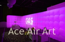 Best sale forum event decoration inflatable photo booth wall, Inflatable Backdrop for sales