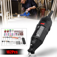 162 in 1 180W Professional Mini Electric Die Grinder Rotary Tool Set Accessory Polisher Engraver DIY Power Tools