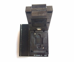 Image 2 - RT BGA64 01 v2.0 emmc nw267 bga64 소켓 어댑터 피치 1.0mm 11x13 리미터 framer for rt809h 프로그래머