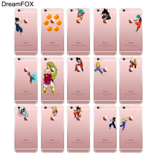 Dragon Ball Soft TPU Silicone Case Cover iPhone Models