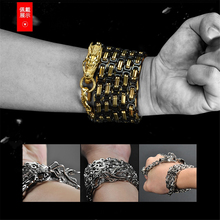 Outdoor equipment tactical steel whip self-defense weapon keel dragon ridge bracelet EDC necklace waist chain