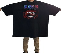 Tokyo Ghoul Japanese Anime Men T Shirt Cotton Funny Print O Neck Short Sleeve Shirts Brand