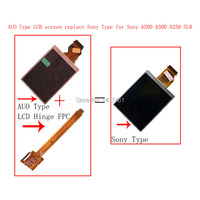 New LCD Display Screen LCD Hinge FPC Cable Parts For Sony A200 A300 A350 SLR