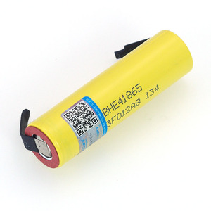 Image 2 - 100% New Original HE4 18650 Rechargeable li lon battery 3.6V 2500mAh Battery 20A 35A discharge + DIY Nickel sheet