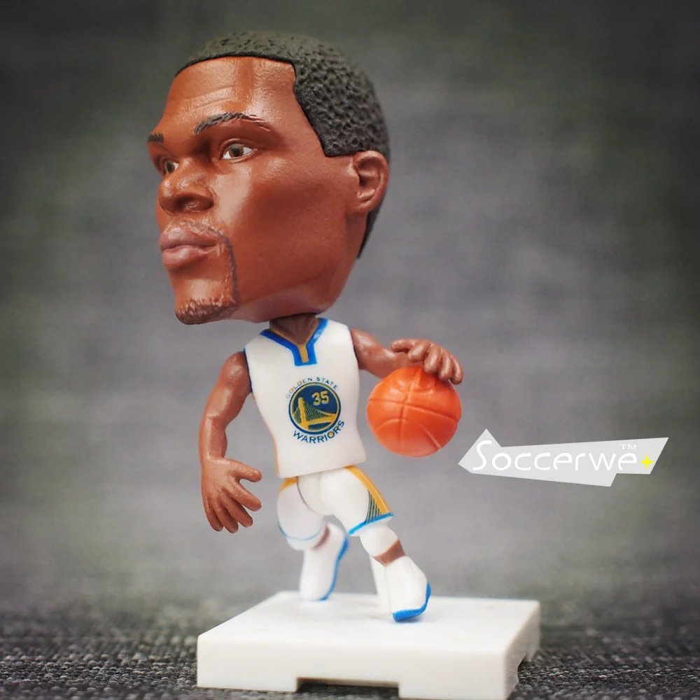 Soccerwe+ Basketball Player Movable Dolls 35 # DURANT + (White) 2.5 Figurine ...