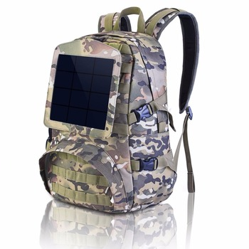 Large-capacity Laptop Solar Backpack