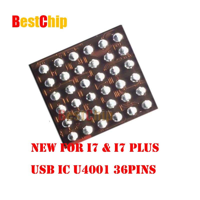 BestChip 30pcs lot U4001 36pins for iphone 7 7plus USB Charger IC
