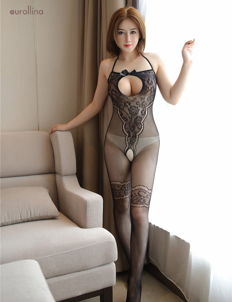Wild  Japanese AV Star Teacher Home Tutor Stocking Pantyhose Adultery Fashion Dress Open Back Lace Detail Thigh Band Fishnet Sexy Toe Nail Festism Bodysuit (5)