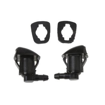 2Pcs Windshield Wiper Washer Jet Nozzle Spray For Toyota E120 Corolla Camry XV30|Windshields| |  -