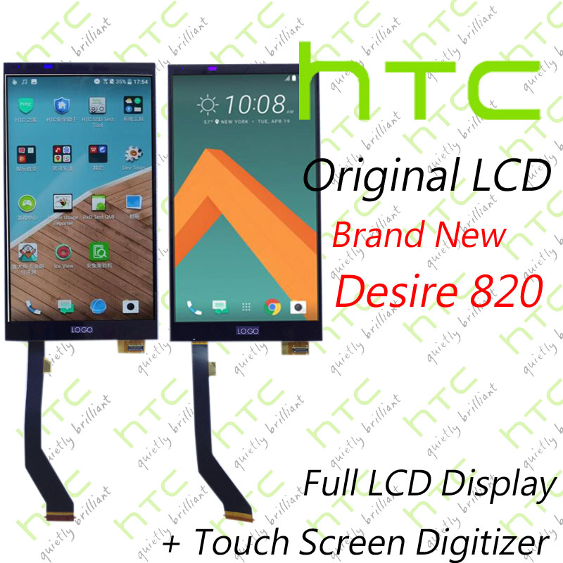 Best ! Original LCD For HTC Desire 820 Full Display With Touch Screen Digitizer Assembly Replacement HTC 820 D820u 820Q