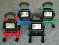 20 Вт LEDPortable floodilght СВЕТОДИОДНЫЕ Открытый Аварийного Перезаряжаемый прожектор LED Прожекторы LED motion sensor
