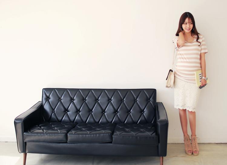 Летни модни дамски къси панталони - Бременност и майчинство - Снимка 3