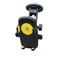 360 Rotate Car Mount Phone Holder Windshield Suction Cup Cradle Stand For IPhone 4S 5S 6S