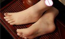 female domestic silicone false foot bones inside, 'model, model of shoes with vigana