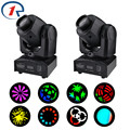 ZjRight 2pc/lot 35W LED moving head Spot Lights DMX stage light Effect for Night Club Bar Stage Party Performance dj disco light