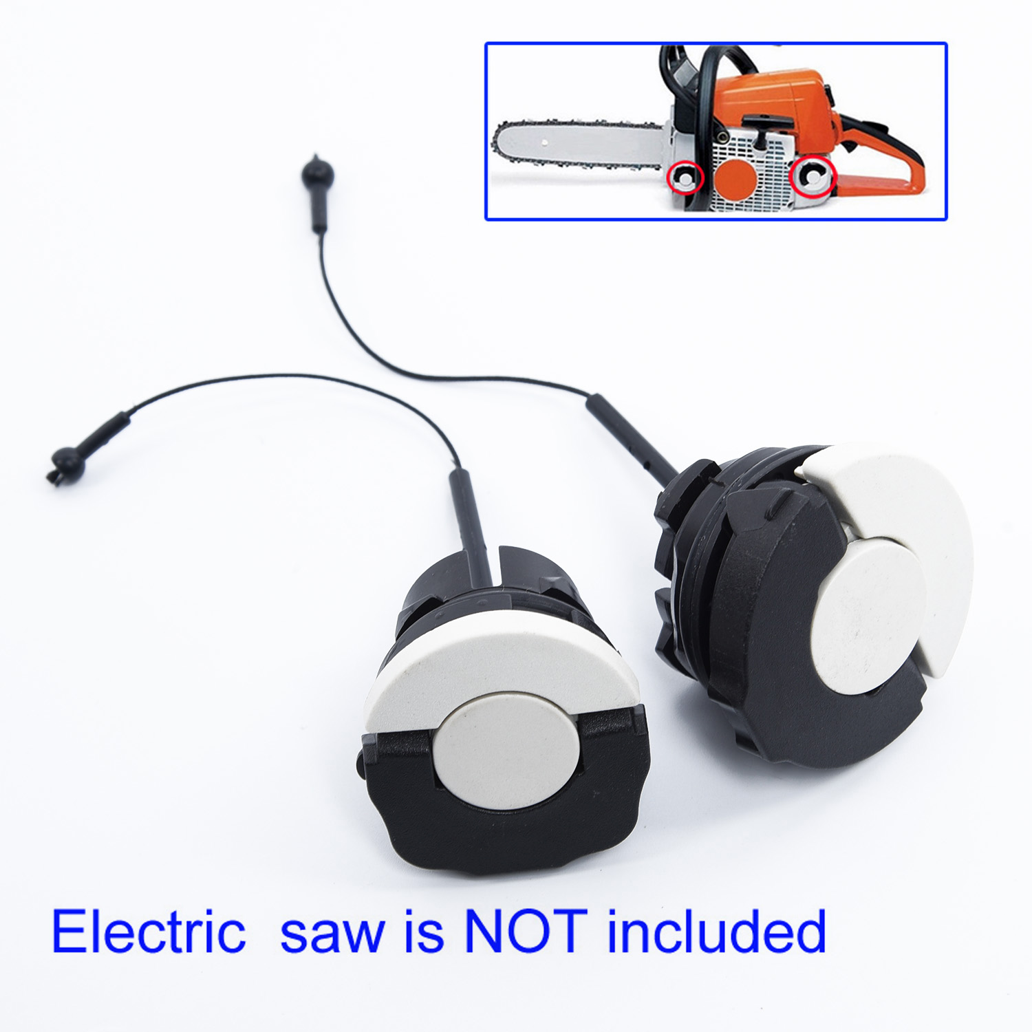 Chainsaw Engine Motor Fuel Tank Gas Oil Cap Parts For STIHL 020 021 023 025 038