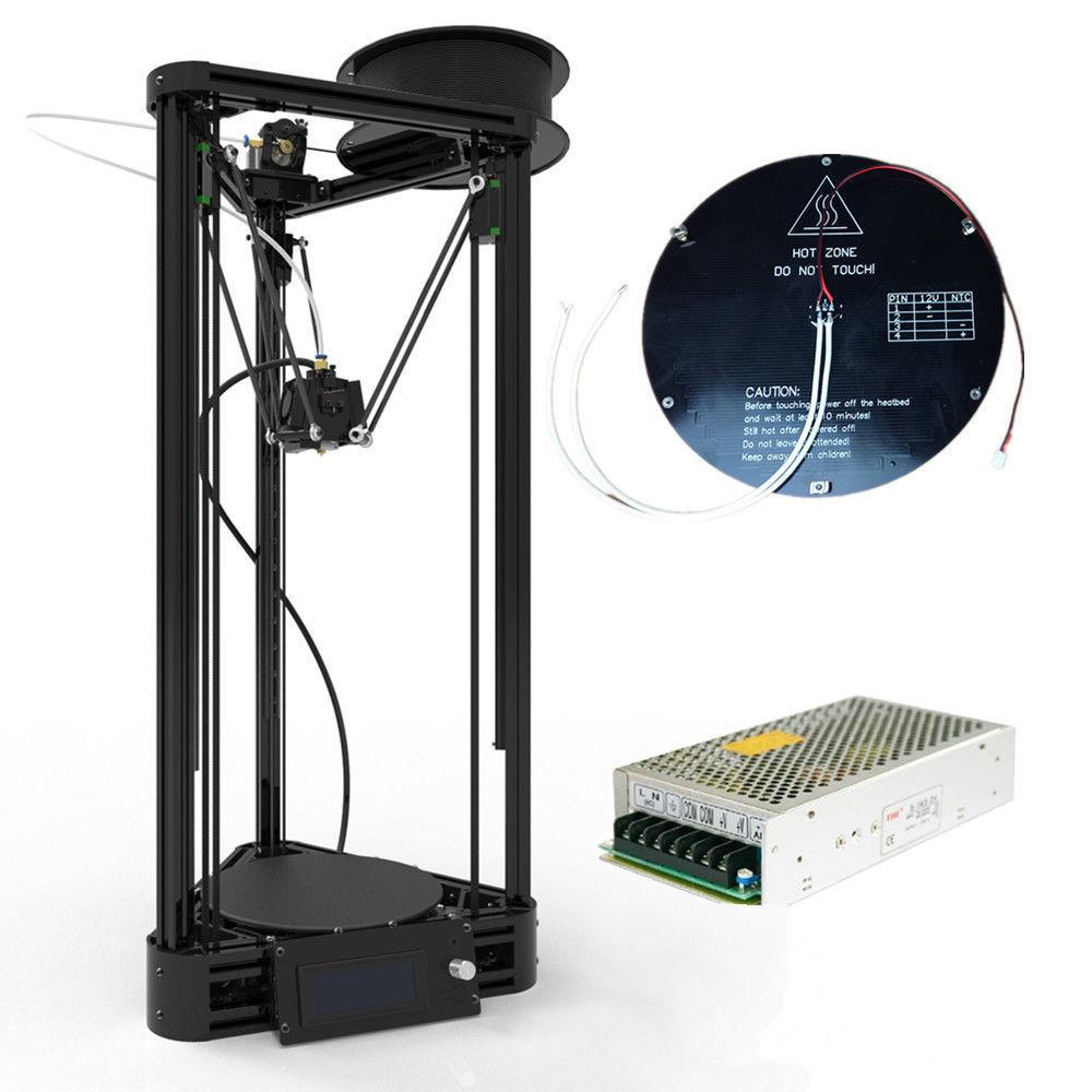2016 new arrivel afinibot 3d printer delta kossel 3d. Black Bedroom Furniture Sets. Home Design Ideas