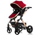 Paisaje de alta bebé de coche de bebé del carro se puede sentarse puede ser tirado en el carro del bebé se puede plegar