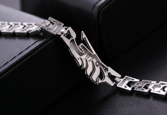 Cartoon Anime Fairy Tail Cosplay Alloy Wrist Bracelet