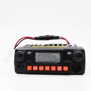 Image 2 - Mini 9800R 25W מיני נייד רדיו עם 136/240/400MHz tri להקות להחליף QYT KT 8900R BAOJIE BJ 218 UHF VHF רכב רדיו