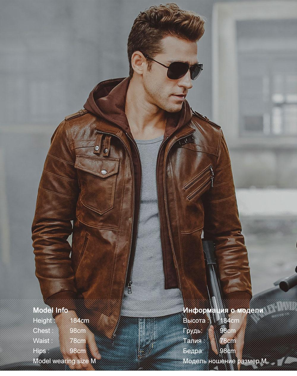 HTB1pGM0X0zvK1RkSnfoq6zMwVXa5 Men's Real Leather Jacket Men Motorcycle Removable Hood winter coat Men Warm Genuine Leather Jackets