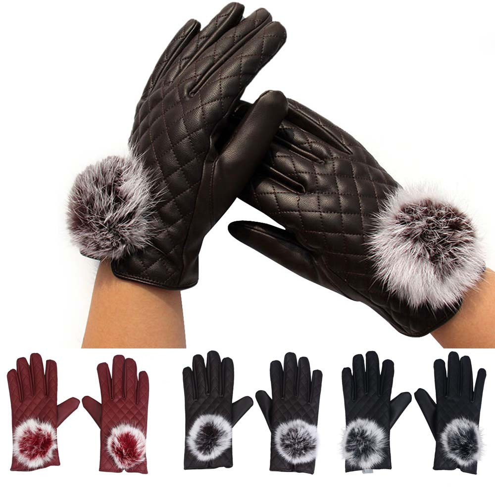 CARPRIE Drop Ship 1Pair Mittens Womens Touch Screen Winter Outdoor Comfortable Bicycle Warm Gloves F12