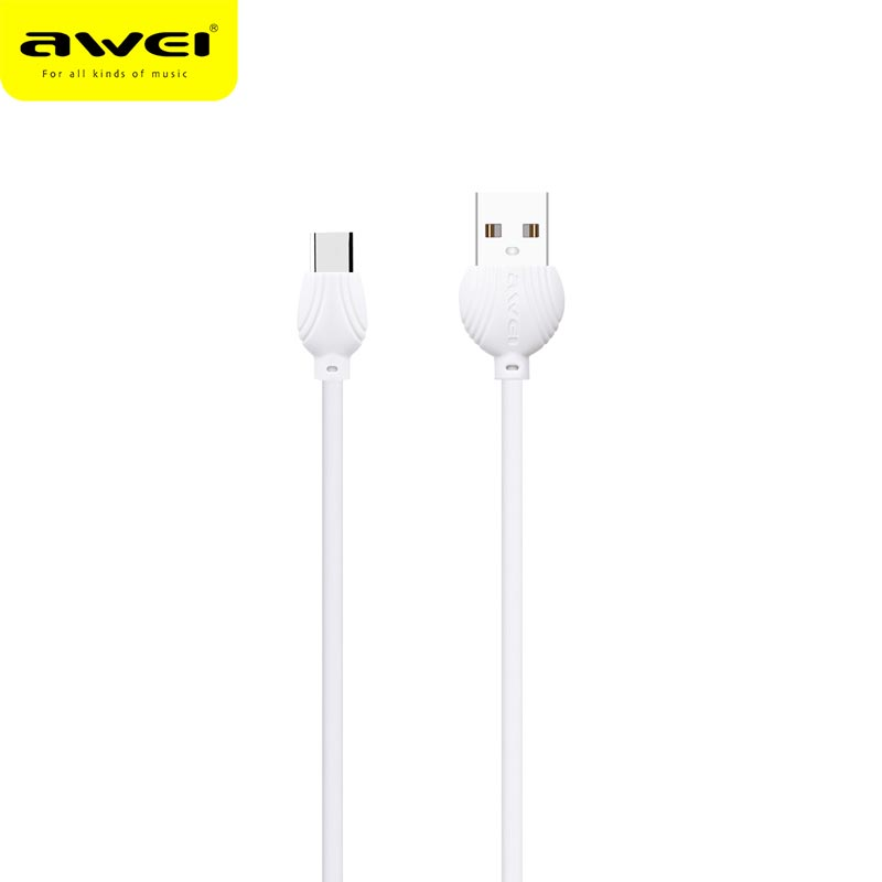 Awei TYPE C data Cable 2 5A safe and fast data charging line quick charging Date line for Type c devices in Data Cables from Consumer Electronics