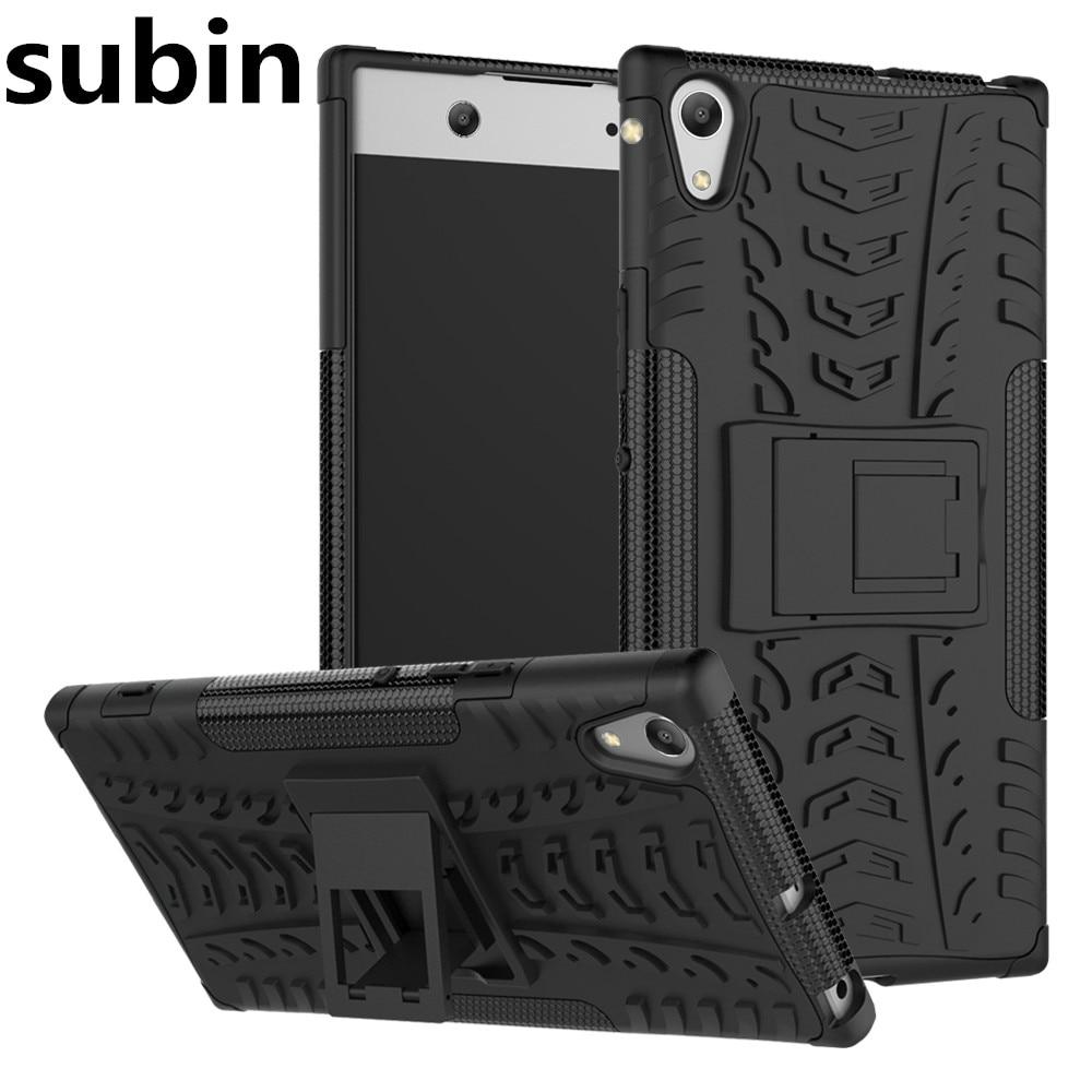 Pro Sony Xperia XA1 Ultra Duální G3226 Pouzdro Hybridní TPU + PC Brnění Pevný Silikonový Telefon Kryt Pro Sony Xperia XA1 Ultra G3221 G3223