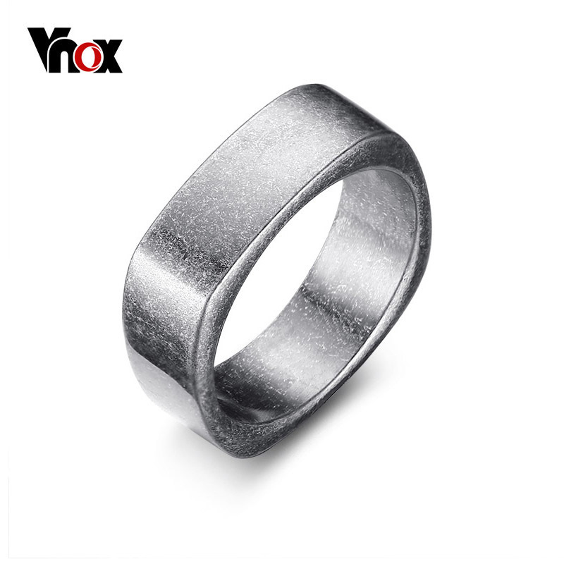 Vnox Rock Punk Men's Cocktail Ring Vintage Silver Tone Rings for Men Anel Masculino Turkish Male Jewelry vnox rock punk men s cocktail ring vintage silver tone rings for men anel masculino turkish male jewelry