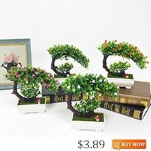 JAROWN-Artificial-Plants-Fake-Flower-Bonsai-Home-Decoration-Flores-Simulation-Plastic-Potted-Plant-Wedding-Decorations-Gift