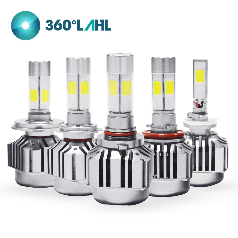 3 Color Fog Light 360 V8 H1 H3 H4 H7 H8 H9 H11 H13 9004 9005 9006 9007 880 5202 9012 Car LED Headlight Bulbs 3000K 6000K 8000K vehigo c6 h7 car led bulbs h1 h3 h4 h7 h11 880 881 9004 9005 9006 9007 9012 5202 car led headlight bulbs 3000k 6000k fog light